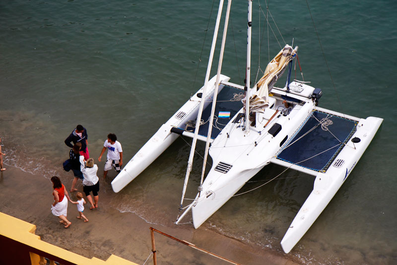 Consent: Boat plans trimaran Here